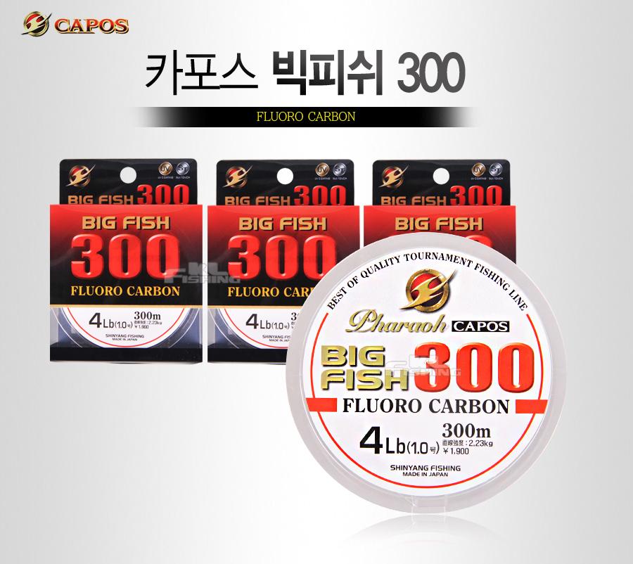 bigfish 카본사 후로로카본 300m