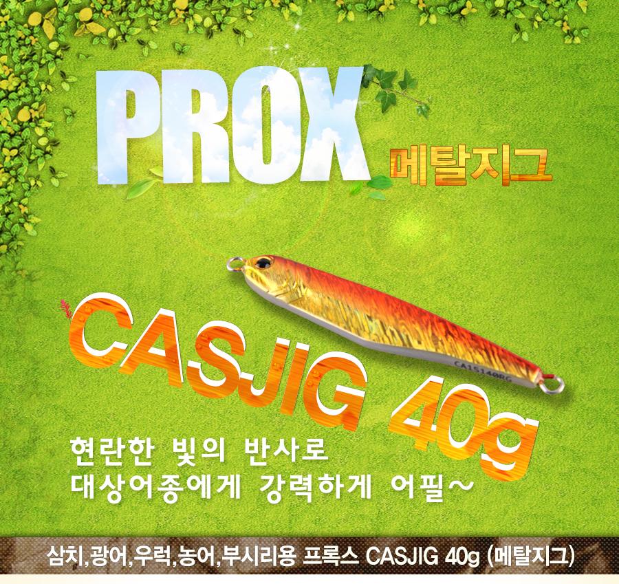 프록스 CASJIG 40g (메탈지그)