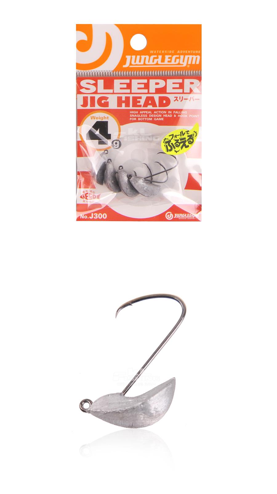쟝글짐 슬리퍼 지그헤드 (J300) SLEEPER JIG HEAD 플랫피싱 광어 우럭 양태 스탠딩지그헤드