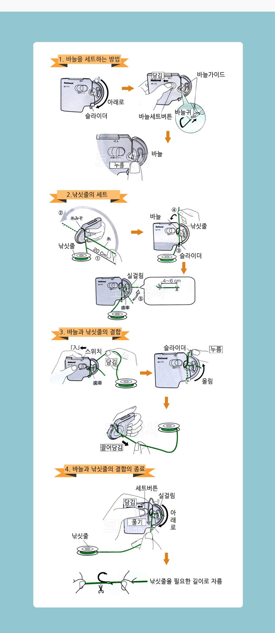 하피손 바늘결속기 (YH-713) (가는라인/작은바늘용) 바늘결속기 결침기 나쇼날결속기 파나소닉결속기 해피손결속기