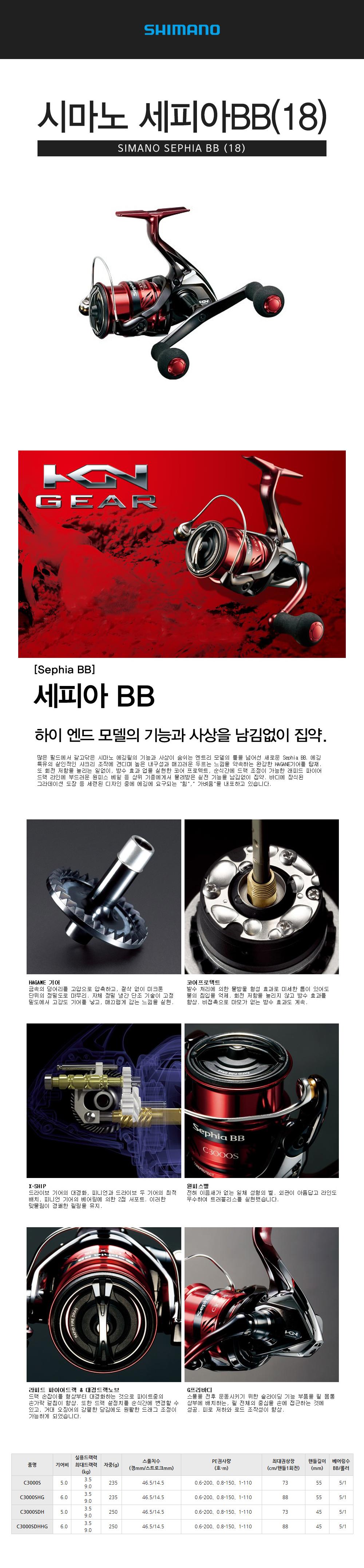 시마노 세피아 BB (18) 윤성정품 에깅릴 에깅 무늬오징어 에깅낚시 에깅루어낚시 무늬오징어낚시